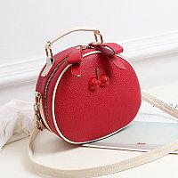 Летняя круглая женская сумочка Berry