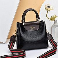 Женская сумка SADG с ярким акцентным ремешком