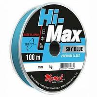 Леска Hi-Max Sky Blue 0,27 мм, 7,5 кг, 100 м, голубая tr-231496