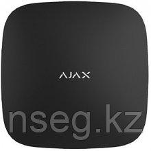Центр управления системой Ajax с встроенным GSM-коммуникатором Ajax Hub (black)