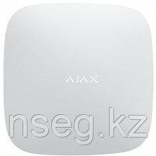 Центр управления системой Ajax с встроенным GSM-коммуникатором Ajax Hub (white)