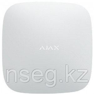 Центр управления системой Ajax с встроенным GSM-коммуникатором Ajax Hub (white), фото 2