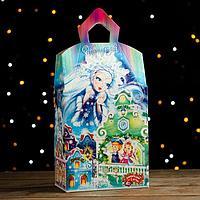 Подарочная коробка 'Снежная королева' замок с анимацией, 145х85х255 мм (комплект из 10 шт.)