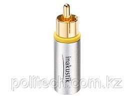 Inakustik Коннектор Exzellenz RCA Plug Twist On Bulk EAN:4001985515615