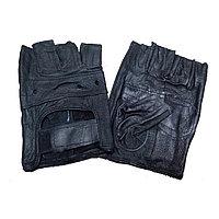 Перчатки для тренажеров и турника Черные