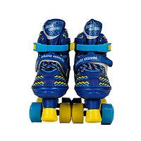Ролики Inline Skates 4x- колесные, синие