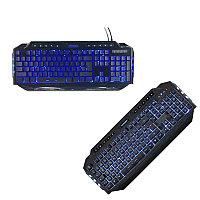 Клавиатура мультимедийная, Игровая, USB, Crown СМKY-5020