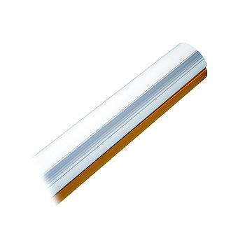 Стрела CAME G03750, 4 м, белая, полуовальная, противоударный профиль
