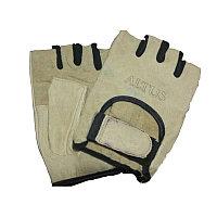 Перчатки для тренажеров и турника(белый)