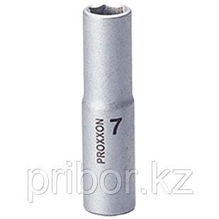 """23772 Proxxon Удлиненная головка на 1/4"""", 7 мм"""