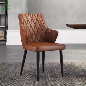 Кожанный обеденный стул, фото 2