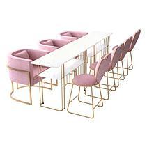 Бархатное королевское кресло, фото 3