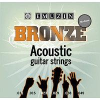 Струны для акустической гитары EMUZIN 6PB 11-49