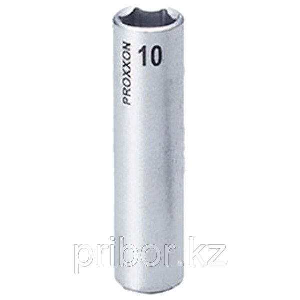 """23778 Proxxon Удлиненная головка на 1/4"""", 10 мм"""