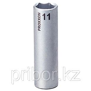 """23777 Proxxon Удлиненная головка на 1/4"""", 11 мм"""