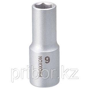 """23534 Proxxon Удлиненная головка на 3/8"""", 9 мм"""