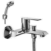 Смеситель Rossinka Silvermix RS28-31 для ванны с монолитным изливом