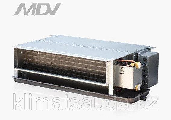 Канальный фанкойл MDV  MDKT2-1000G50, 2-х трубные, двухрядные, 50Па