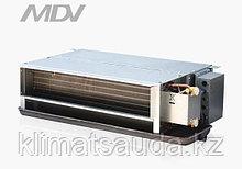 Канальный фанкойл MDV  MDKT2-1200 G50, 2-х трубные, двухрядные, 50Па