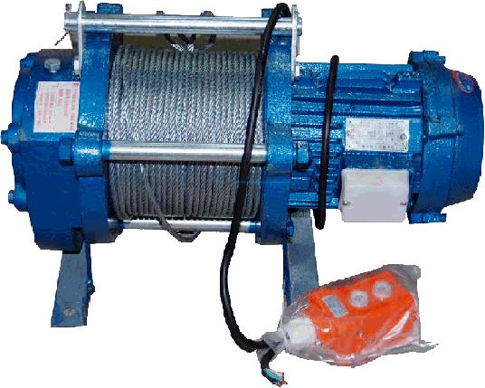 Лебедка электрическая KCD 1000 кг (380В), фото 2