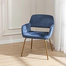 Современный бархатный стул