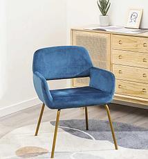 Современный бархатный стул, фото 2