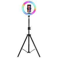 Кольцевая цветная RGB лампа 26 см