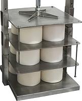 Пресс для сыра ИПКС-058К1 (комплект деталей для установки форм), для прессования одновременно 12 форм