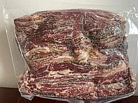 Бекон говяжий сырокопченый нарезка ~1000 гр, Кингс Мит