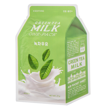 Тканевая маска A'Pieu Green Tea Milk One-Pack