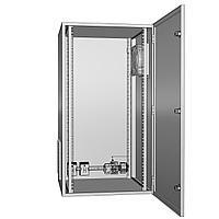 Щит климатический утеплённый с вентиляцией ЩКу- В- 02 - 500×400×200 (В×Ш×Г) IP65