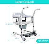 Кресло для инвалидов, модель: AHC-ZM040, многофункциональное. Удобно для перевозки в санитарный узел., фото 2