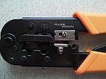 Fluke Networks 11212530 обжимной инструмент для опрессовки разъёмов RJ-45 RJ-11 и RJ-12, фото 3