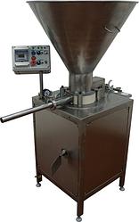 Шприц вакуумный (колбасный, дозирующий роторный) ИПКС-047МД(Н), произв. 800 кг/ч