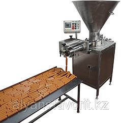 Шприц вакуумный (перекрутчик для колбас, сосисок, роторный) ИПКС-047МП(Н), произв. сосисок 200 кг/ч
