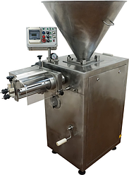 Шприц вакуумный (перекрутчик для колбас, сосисок, шнековый) ИПКС-047ШП(Н), произв. колбас до 1500кг/ч