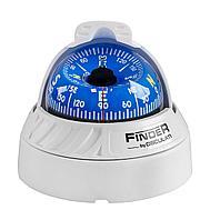 "Компас FINDER размер 2"" 5/8 (67 мм), накладной, белый 25-172-02"