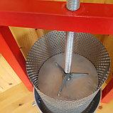 Пресс для отжима сока винтовой. Объем корзины 13 литров., фото 4