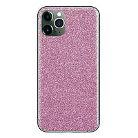 Текстурные скины для защиты корпуса телефона Devia pink-brillo