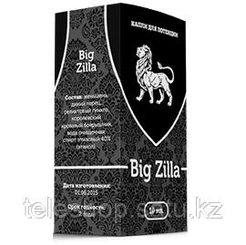 Капли для мощной потенции Big Zilla