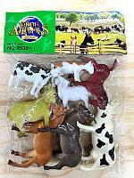 9538-1 Домашние животные ферма 8шт в пакете 28*21см