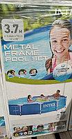 Каркасный бассейн Intex 366*76 в комплекте с фильтром для воды