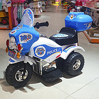 "Полицеский мотоцикл ""Bugati"" аккумулятор 6V"