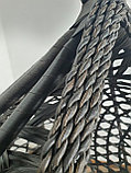 Подвесная качеля (кокон) AW-02-S, (чер.), фото 2