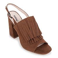 Туфли женские открытые арт. 977097/01-02E, цвет коричневый, размер 36