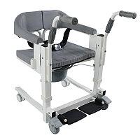 Кресло для инвалидов, с электроприводом, аккум. 24v 2,6A/H. Пульт. Удобно для перевозки в санитарный узел.