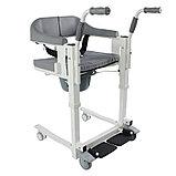 Кресло для инвалидов, с электроприводом, аккум. 24v 2,6A/H. Пульт. Удобно для перевозки в санитарный узел., фото 4