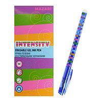 Ручка гелевая 'Стираемая' Mazari Intensity, игольчатый пишущий узел 0.5 мм, стираемые чернила синие (комплект