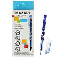 Ручка гелевая 'Стираемая' Mazari Presto, игольчатый пишущий узел 0.5 мм, стираемые синие чернила (комплект из