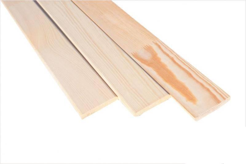 Наличник сосна плоский (срощ) 10*90*1100 сорт Экстра